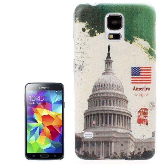 Backcover Case fürs Samsung Galaxy S5 i9600 White House