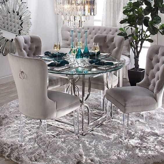 Centros de mesa para comedor de vidrio, ideas en Decoración ...
