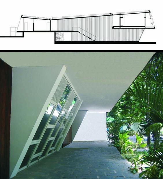 Casa Miguel Vita.Recife.Delfim Amorim.Redesenho e fotografia da autora