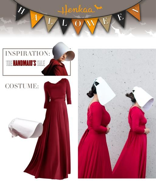 Brand New The Maiden The Handmaid/'s Tale Inspired Adult Costume