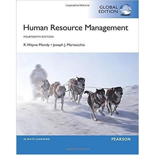 Human Resource Management 14th Global Edition Isbn 13 978 1292094373 Human Resource Management Human Resources Human Resource Management System