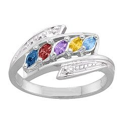 2-6 Marquise and Accents Ring