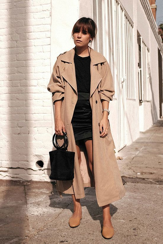 Trench Coat NUDE