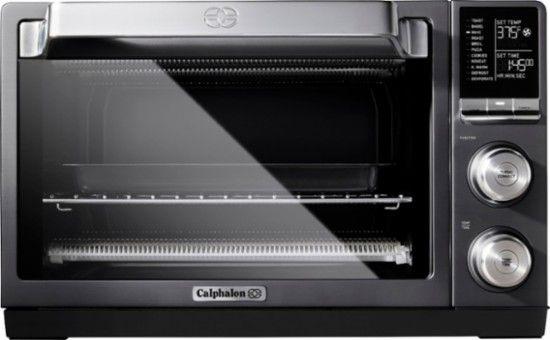 Calphalon Quartz Heat Convection Toaster Pizza Oven Dark