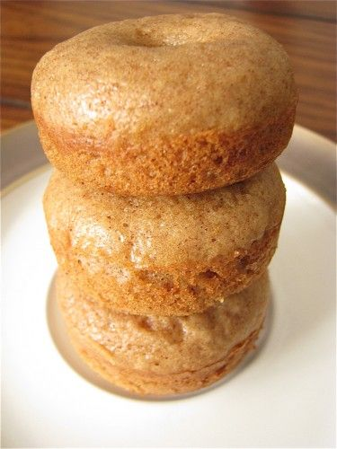 Baked Mini Apple Cider Doughnuts « Healthy Food For Living