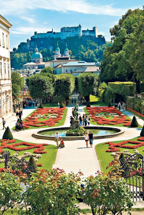 the spirit of 'sound of music' lingers on - a 19th century manor house which belonged to the real von trapp family is now a bed&breakfast in salzburg, austria.