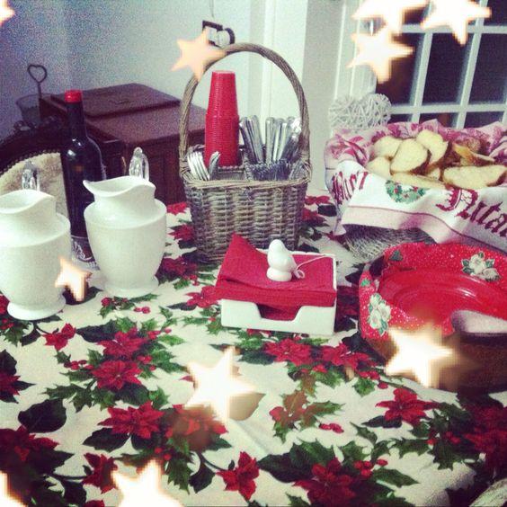 Un buffet natalizio