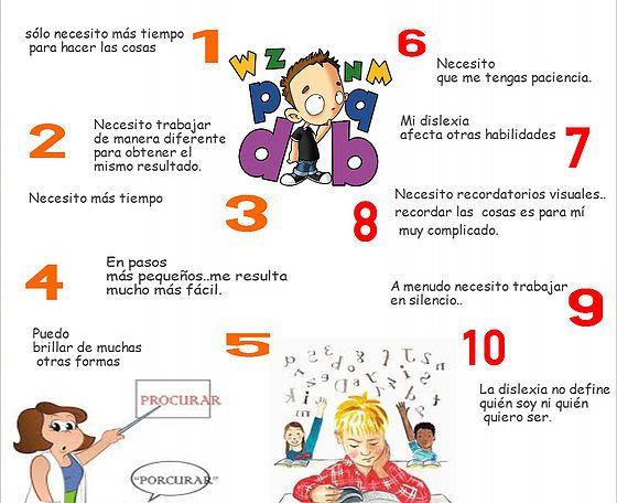 Talentos Y Habilidades Problemas De Aprendizaje Dislexia Educacion Infantil
