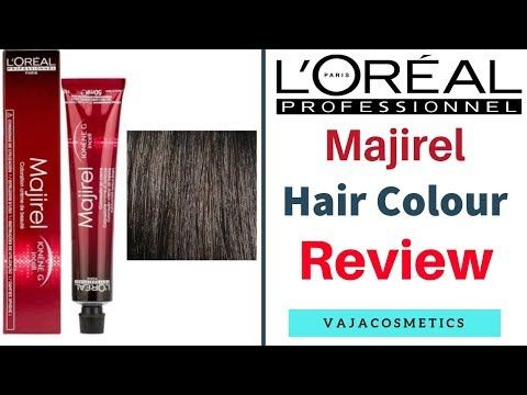 Best Hair Colours L Oreal Professionnel Majirel Hair Colour Review In Hindi Youtube Hair Color Reviews Cool Hair Color Hair Color
