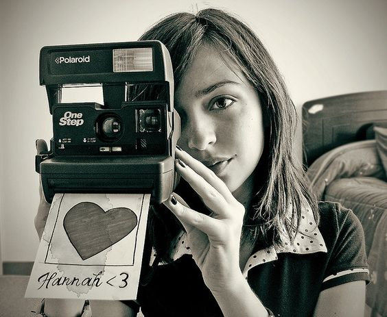 Polaroid by krmenxa, via Flickr