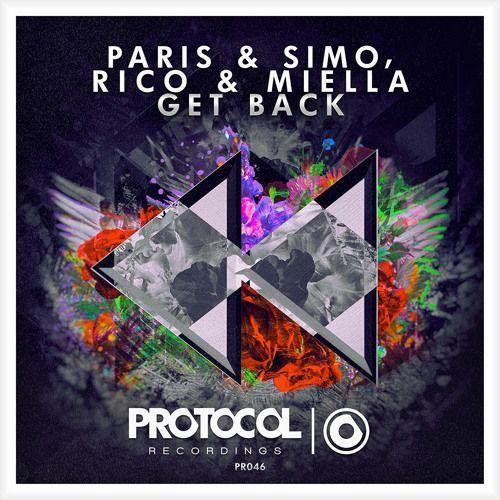 Paris & Simo, Rico & Miella – Get Back (single cover art)