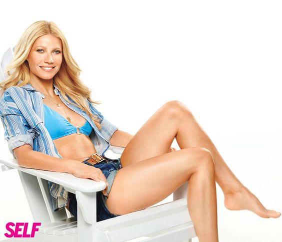 Bikini-Clad Gwyneth Bares Her Sexy Abs For Self Magazine ... Gwyneth Paltrow Cookbook