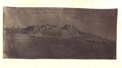Siebrecht, Die Ausgrabung von der Nordseite, Troy, 1873