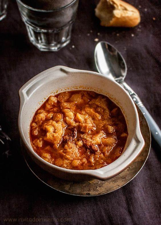 Sopa de ajo o castellana   Recetas con fotos El invitado de invierno