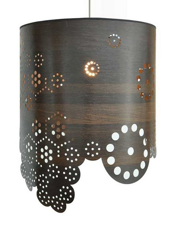 Modern Lampshades With Intriguing Perforated Patterns