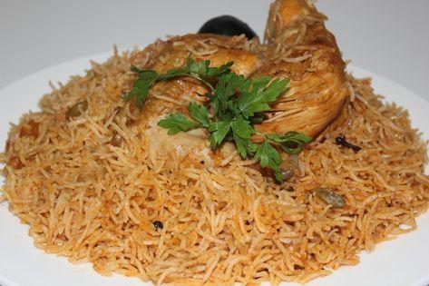 وصفة أرز كابلي بالدجاج منال العالم سهله وسريعة التحضير موسوعة Cooking Food Middle Eastern Recipes
