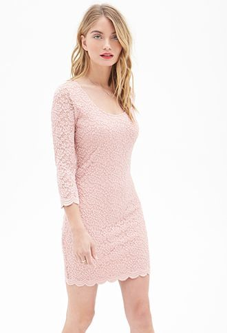 Embroidered Lace Sheath Dress | Forever 21 - 2000067018