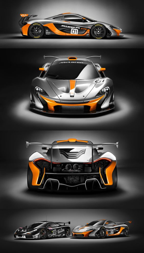 McLaren P1 GTR, Race trim with a Racing paintwork but the car is a work of art.