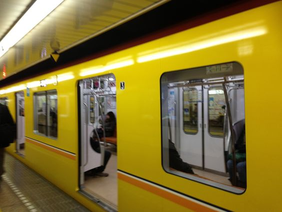 New train of Ginza line