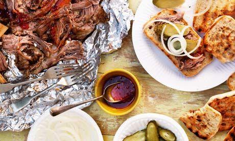 Barbecue pork shoulder, Carolina style: recipe