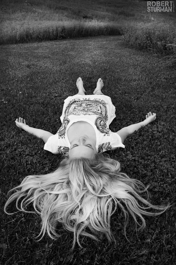 ♥Layersofhappiness.com  savasana in the grass... being one with the Earth