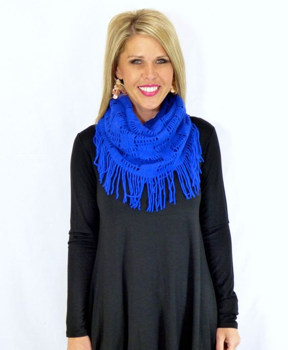 Free Yourself Infiniti Scarf: Multiple Colors