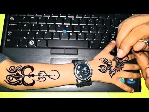 Men Tattoos Boys Tattoos Tattoos With Black Cone Mehndi Stylish And Beautiful Youtube Tattoos For Guys Mehndi Designs For Kids Simple Mehndi Designs