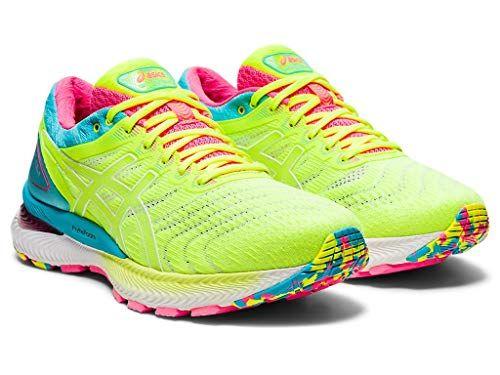 ASICS Women's Gel-Nimbus 22 Running Shoes, 8.5M, Safety Yellow ...