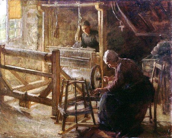 Métier à Tisser «Sydney Strickland Tully» 1899