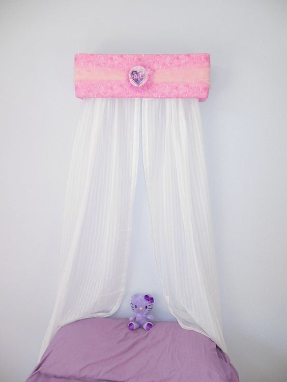 Princess Bed Crown Upholstered Canopy Teesters by The Swank Baby