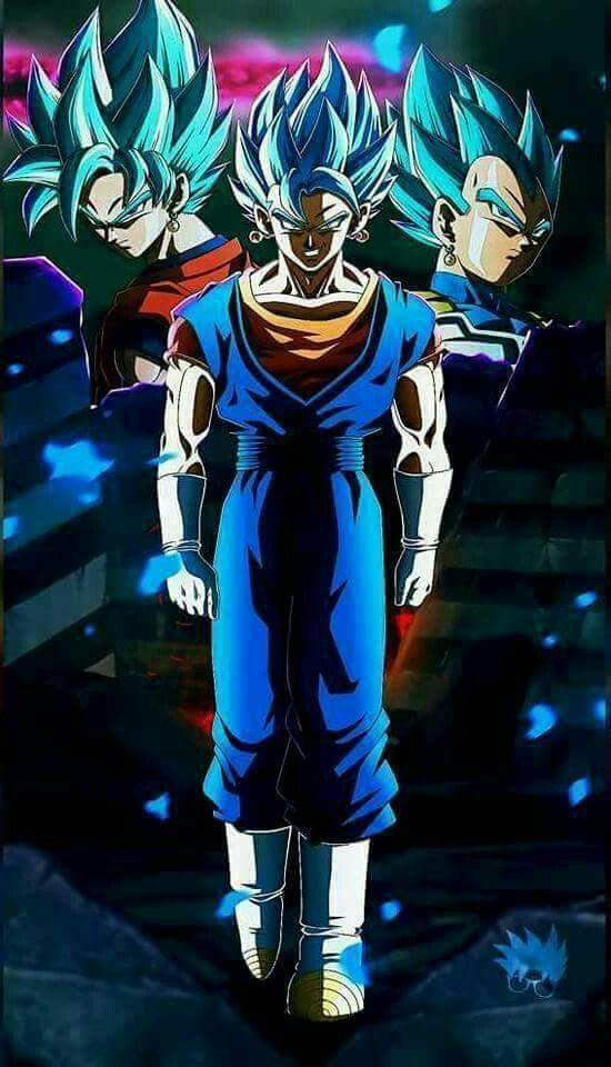 Poster A3 Dragon Ball Super Goku Vegeta Super Saiyan Blue God Manga Anime 06