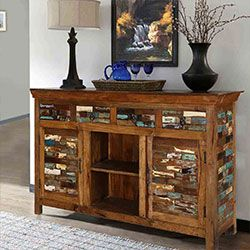 Rustic Solid Wood Furniture And Home Decor Sierra Living Concepts In 2020 Rustic Farmhouse Furniture Reclaimed Wood Furniture Rustic Reclaimed Wood