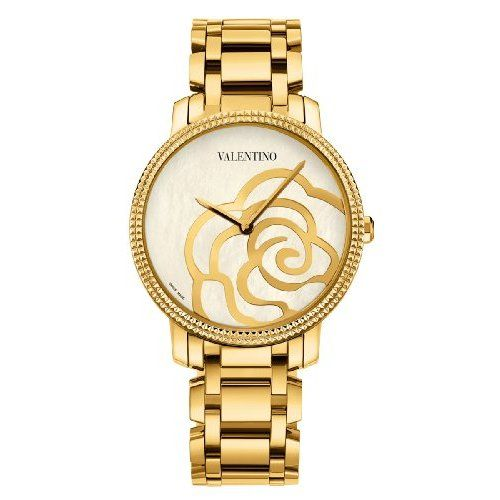 Valentino Women S Rose Gold Plated Mother Of Pearl Watch List Price 2 150 00 You Save 590 50 27 Rose Gold Plates Rose Gold Valentino Women