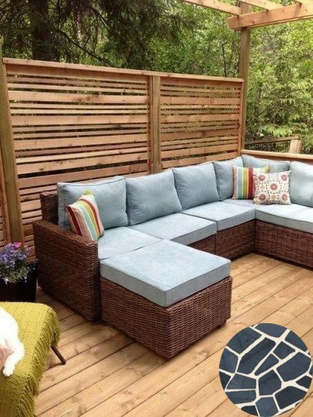 Terraced Concrete Patio And Stone Patio Terrace Find Ideas And Inspiration For Terraced Patio To Add T Backyard Seating Outdoor Privacy Privacy Screen Outdoor