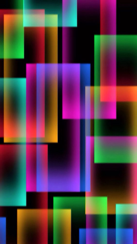 Free Colorful Geometric Wallpaper: Fractals A Geometric Pattern That Is Repeated At Ever