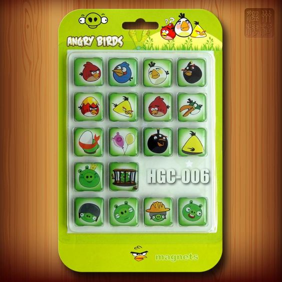 Apps iPhone Magnete Angry Birds