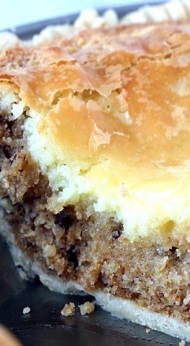 Bayou Brownie Pie