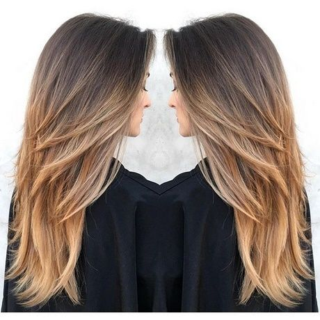 Coupe Cheveux Long Dégradé 2018 Long Hair Styles Hair Styles Layered Hair