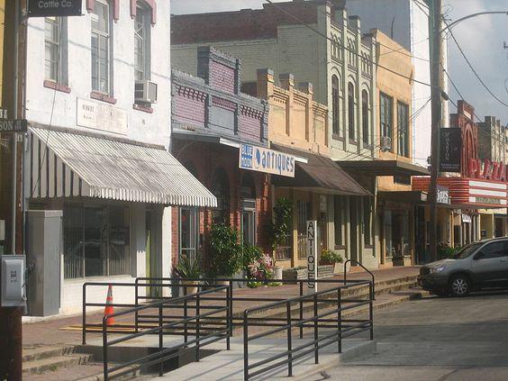 Wharton, Texas - Horton Foote's home town.