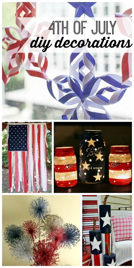 diy 4th of july decorations pinterest