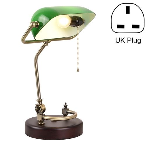 39 54 Green Lampshade Bedroom Reading Eye Protection Retro Bedside Table Lamp Without Light S Retro Bedside Tables Green Lamp Shade Retro Bedside Table Lamps
