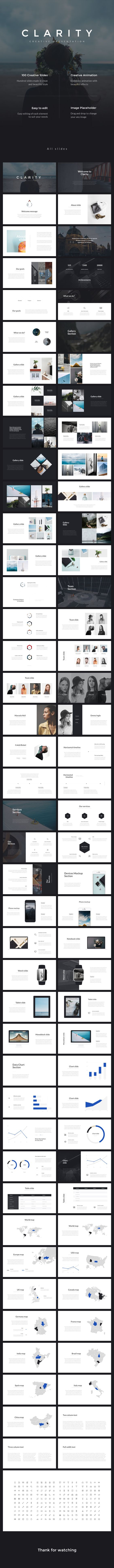 Clarity PowerPoint Presentation - PowerPoint Templates Presentation Templates