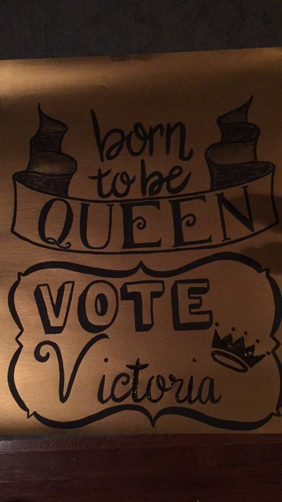 Pics Photos - Homecoming Queen Poster Ideas