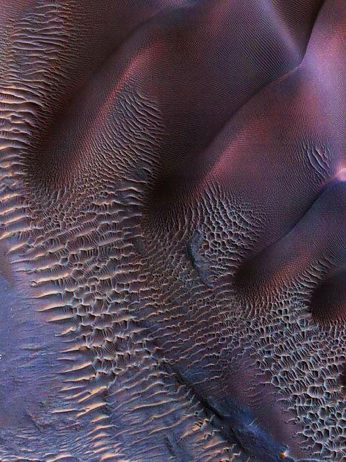 Dunes on Mars.