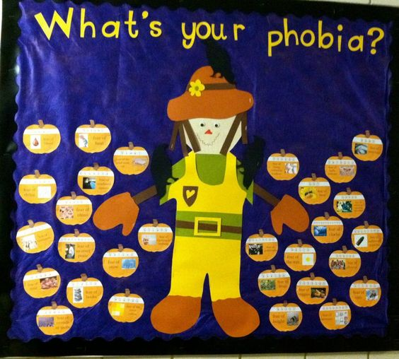 phobiahalloween bulletin board - Phobia Halloween