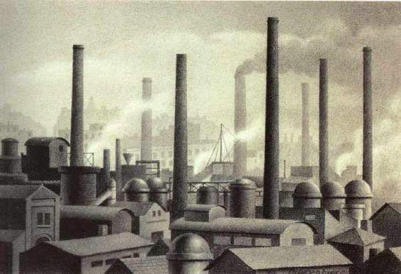 Fábricas (1934), por Ángel López-Obrero