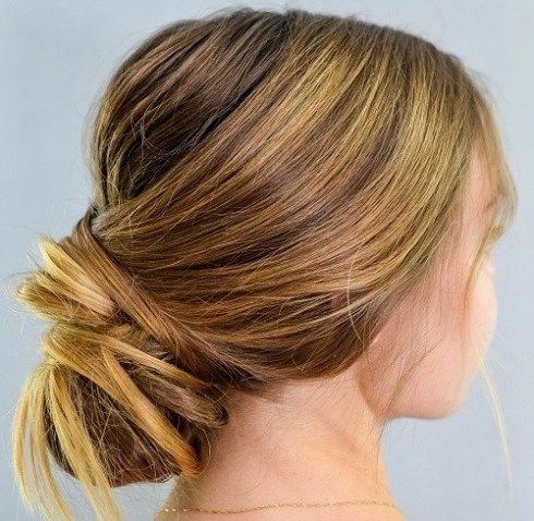 How To Make A Chic Chignon In 6 Easy Steps Chignon Hair Easy Chignon Hair Styles