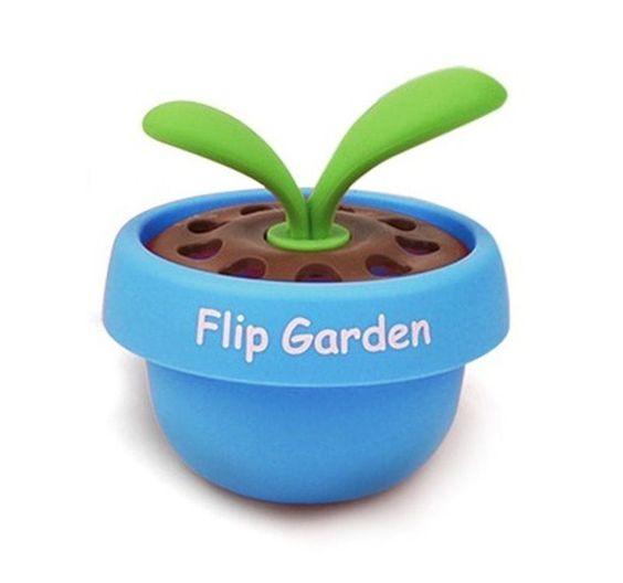 Fouring Car Vechicle Home Office Toilet Air Freshener Flip Garden Aqua Blue #Fouring