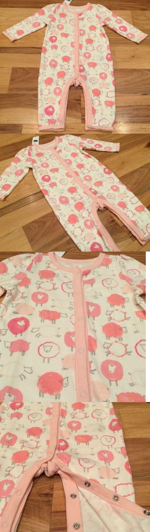 34dc1f6c940 Baby Gap Girls 3-6 Months One-Piece Romper. Pink