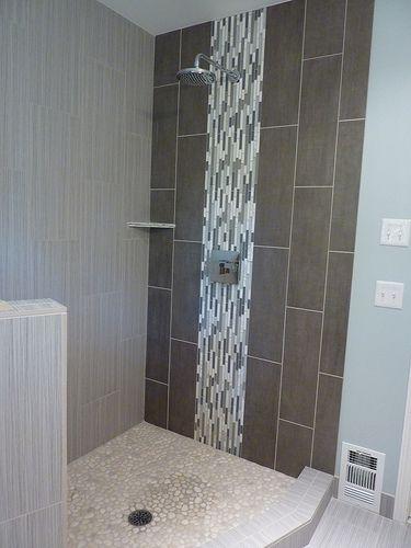 Shower tiles tile and showers on pinterest Bathroom tiles design catalog